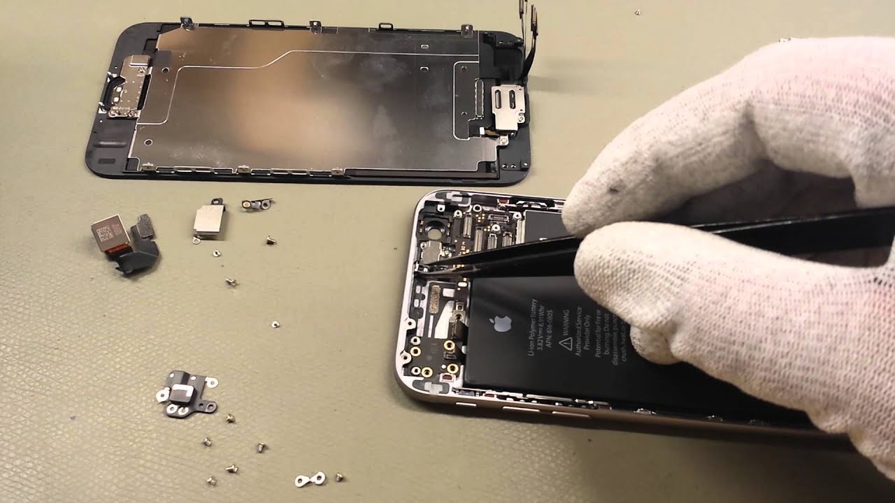 iPhone 6 Disassembly - handyreparatur123