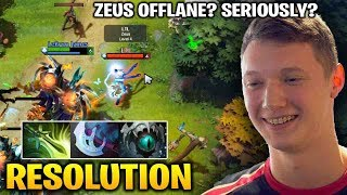 Resolution Terrorblade - Pick Zeus Offlane Against Him? Seriously??