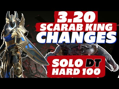 Scarab changes Solo DT HARD 100 w/ Vergis Raid Shadow Legends Scarab King solo guide