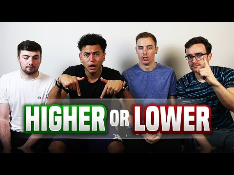HIGHER OR LOWER!!! [HOUSE CHALLENGE]