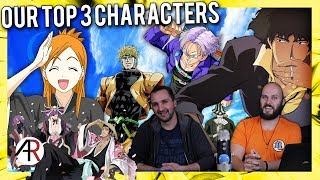 Anime Chat Cast | Our Top 3 Characters
