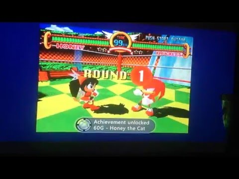 Unlocking Honey The Cat - Sonic The Fighters