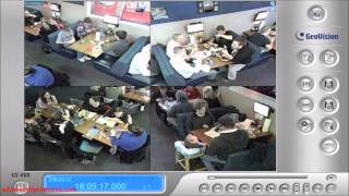 GeoVision Fisheye 360 Dome IP Camera Demo   Restaurant(GeoVision Fisheye Demo Restaurant A GeoVision fisheye camera that allows you to monitor all angles of a location using just one camera. The distorted ..., 2013-11-15T17:25:31.000Z)