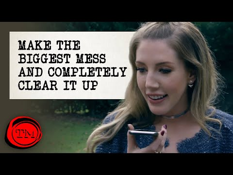 Make The Biggest Mess And Completely Clear It Up | Full Task | Taskmaster