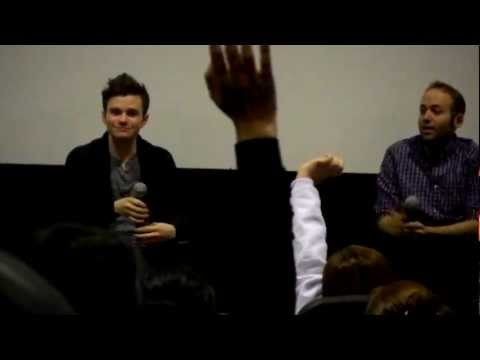 Chris Colfer SBL Q&A