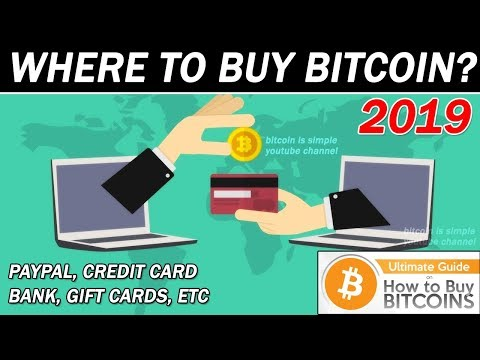 Where To Buy Bitcoin Online ??  Credit Card, Paypal, Bank Account, Etc !!