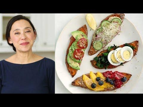Sweet Potato ToastsHealthy Appetite with Shira Bocar
