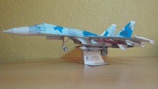 Sukhoi SU-35 Papercraft