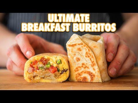 The Perfect Breakfast Burrito (3 Ways)