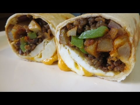 How To Make Breakfast Burrito Recipe