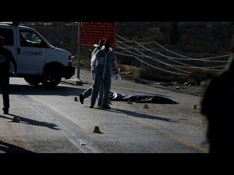 Israeli soldier stabbed in the West Bank, attacker killed