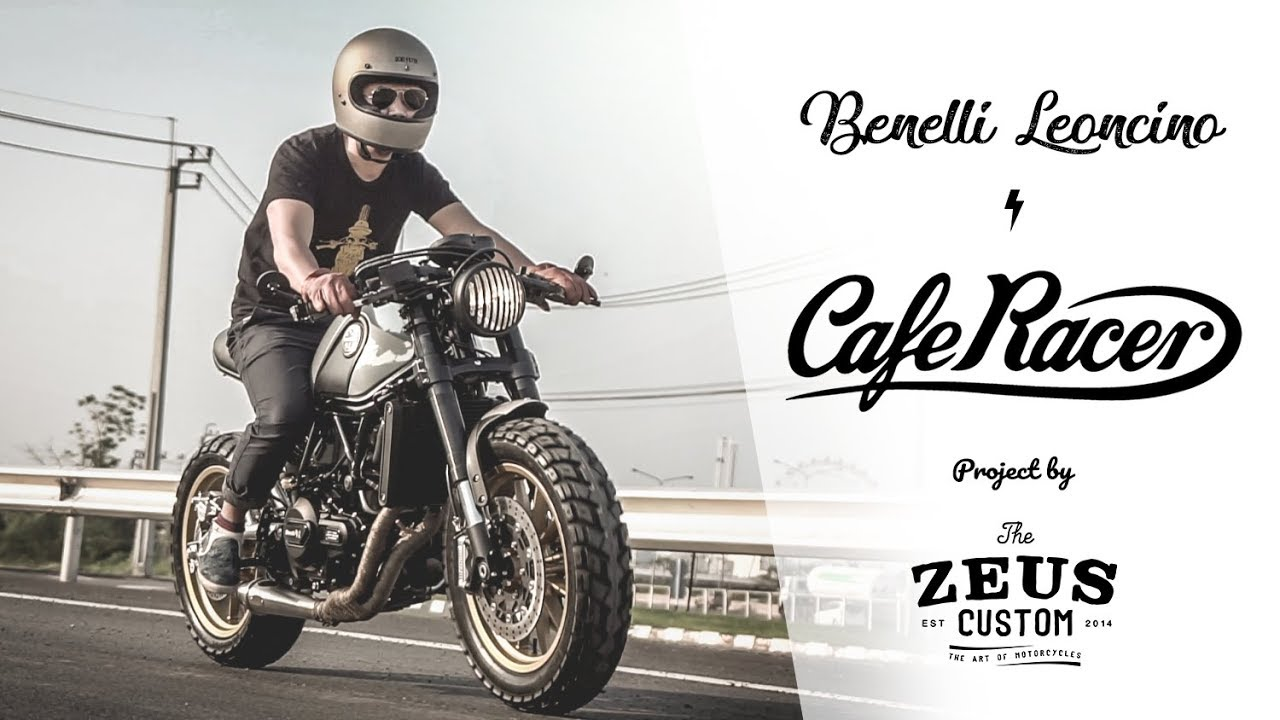 Benelli Leoncino 500 Cafe Racer By Zeus Custom Official Video