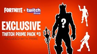 * NUEVO * TWITCH PRIME PACK #3 LEAKED! (Fortnite: Battle Royale)