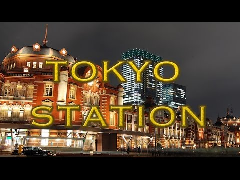 Rising Sun - Tokyo Station [HD] Japan's grand central station.