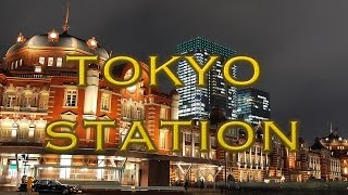 Rising Sun - Tokyo Station [HD] Japan's grand central station.