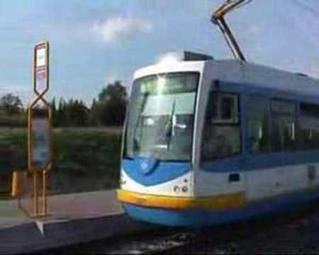 Trams in Ostrava (Czech Republic)