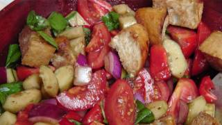 Panzanella Salad - Recipe By Laura Vitale - Laura In The Kitchen Episode 178