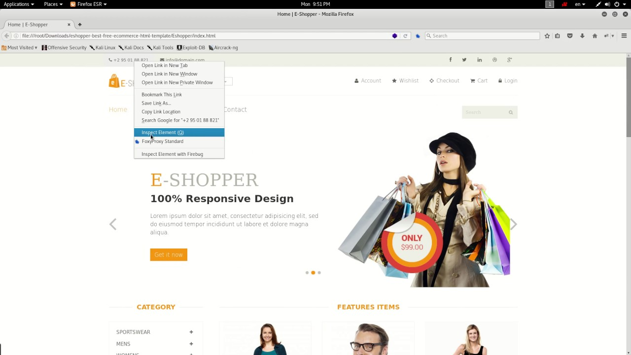 50+ Free Responsive HTML5 CSS3 E-commerce Website Templates - YouTube