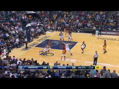 Memphis Grizzlies vs Indiana Pacers | February 24, 2017 | NBA 2016-17 Season