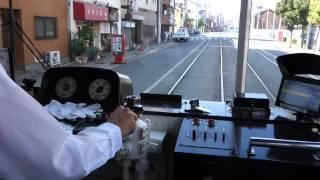 ダイヤモンドクロッシング通過 阪堺電車
