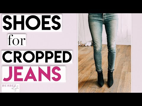 What Shoes & Boots You Can Wear With Your Cropped Jeans