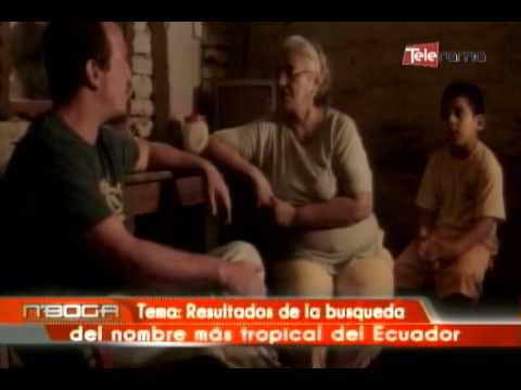 Resultados de la busqueda del nombre más tropical del Ecuador