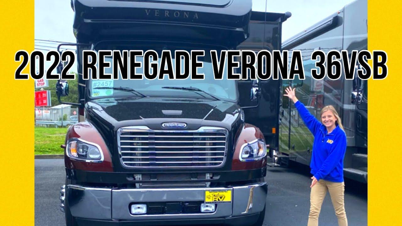 2022 Renegade Verona 36VSB RV Tour!