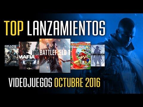 Videojuegos TOP que jugar en OCTUBRE 2016