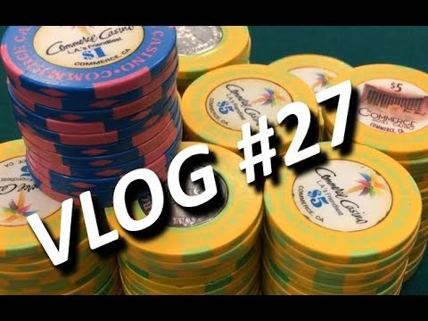 $5/5 NL at the Commerce in LA - Vlogger's Game Practice
