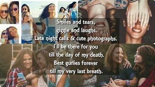 💕Girls Friendship HeartTouching Story Whatsapp Status💕Enge Ponalum Thooram Sendralum Song Status