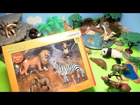 Schleich North America Wild Animal Babies Set 14794