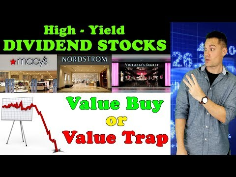 3 Retail Stocks with BIG DIVIDENDS that CRASHED!! - (Time to Buy or Stay Away?)