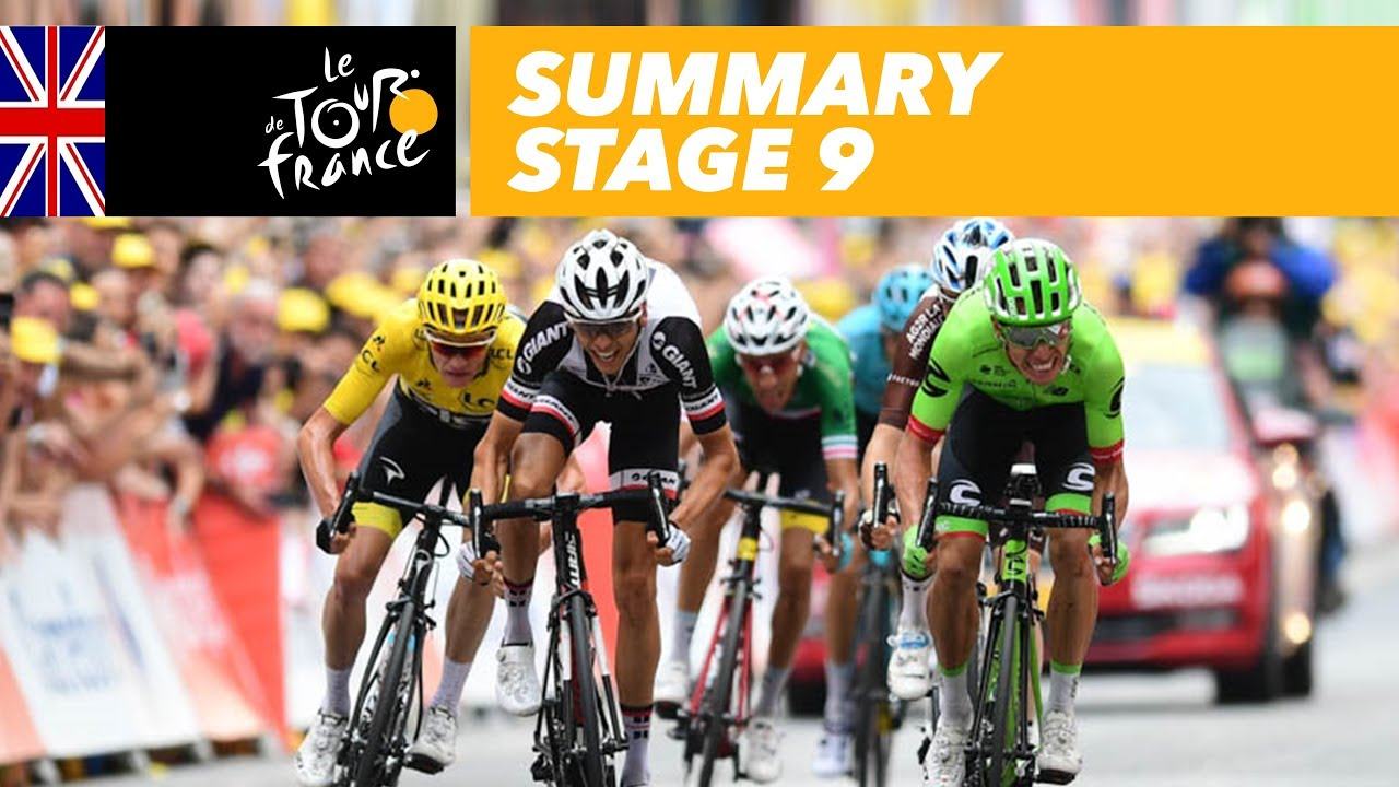 Summary - Stage 9 - Tour de France 2017 - YouTube