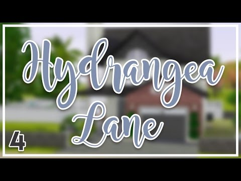 Let's Decorate Together: HYDRANGEA LANE (Part 4) | The Sims 3