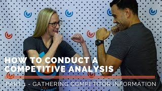 How to Conduct a Competitive Analysis | Part 1