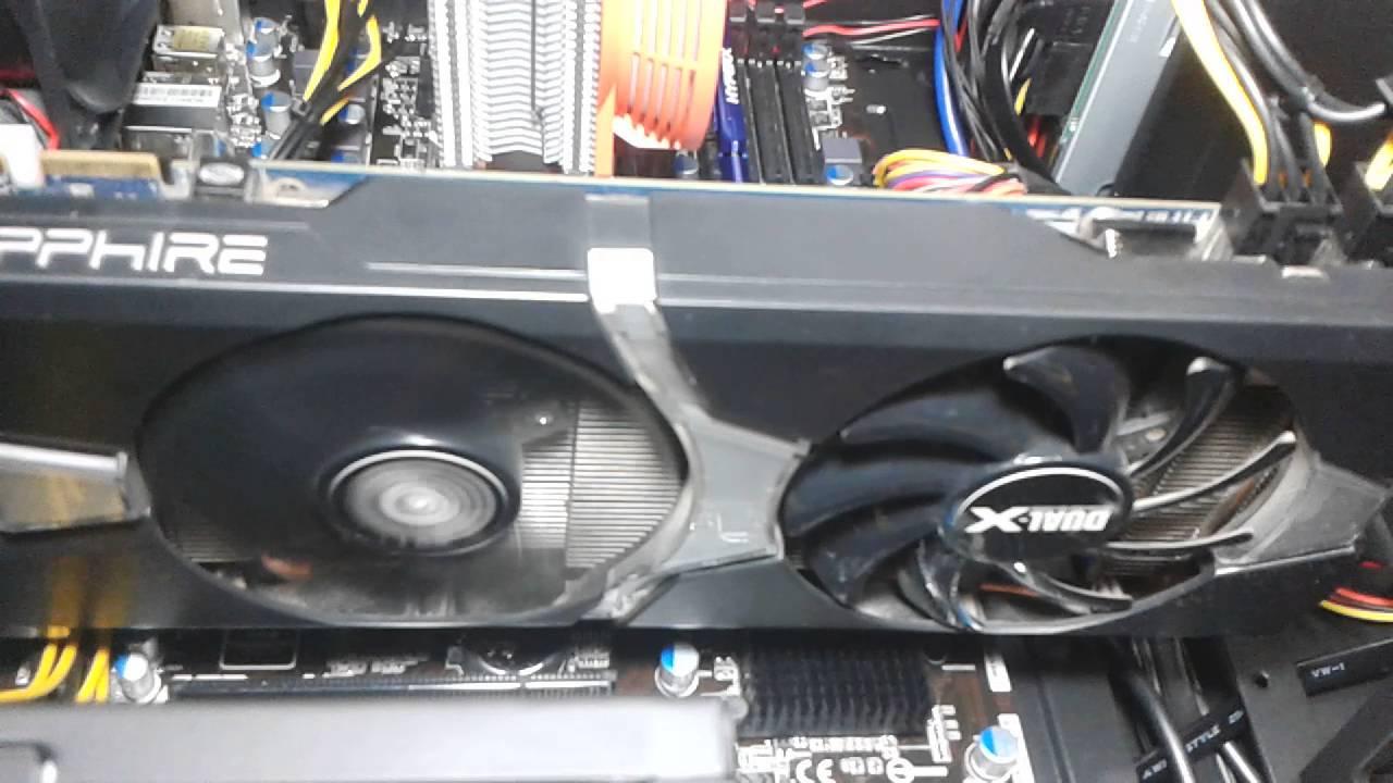 SAPPHIRE DUAL-X R9 280 3GB GDDR5 OC Fan Issue