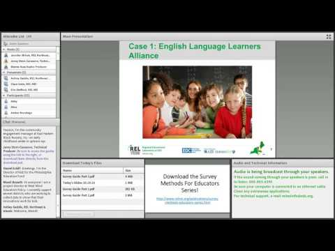 Developing Surveys Using the Collaborative Survey Development Process