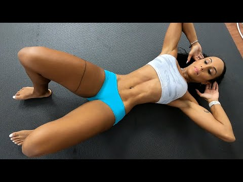 Six-Pack Workout Challenge with Pro Female Fitness Model