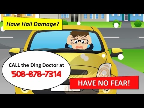 Ding Doctor of Massachusetts | Falmouth MA Hail Damage
