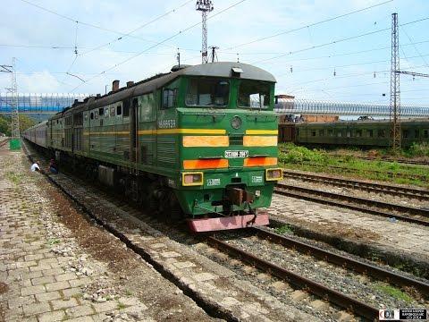 Абхазия из кабины тепловоза - 2
