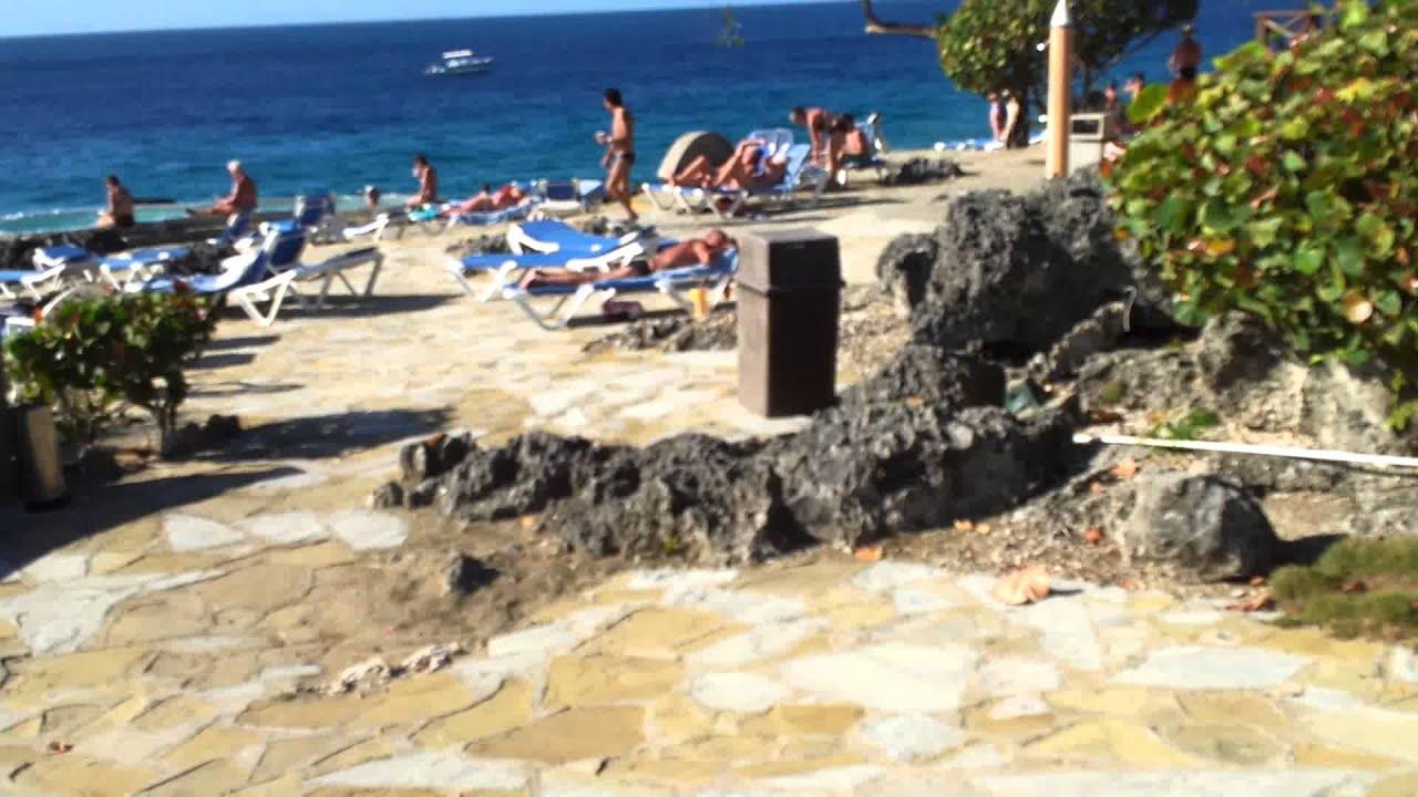 Hotel Casa Marina Reef Beach Dom.rep. Strand Linke