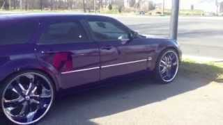 Dodge magnum on 24