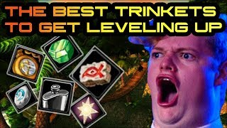 The Best Quest/Drop Trinkets Available While Leveling Up to 60!!  Trinkets of Classic!