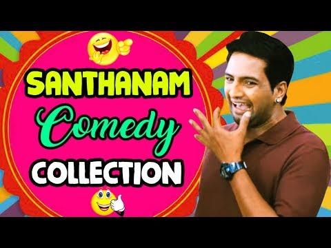 Santhanam best Comedy | Santhanam Comedy Collection | Neethane En Ponvasantham - Billa comedy scenes