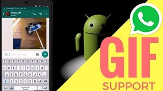 Download Latest WhatsApp Update With GIF Support