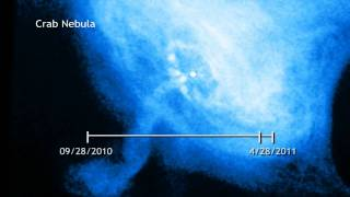 Crab Nebula Time Lapse
