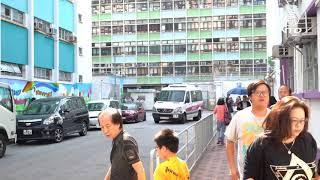 Publication Date: 2019-11-24 | Video Title: (突發)香港區議會選舉  荃灣潮州公學選區突現十多名防暴