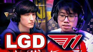 PSG.LGD vs T1 - 10 BUYBACKS IN 1 FIGHT! - TI10 PLAYOFFS - THE INTERNATIONAL 10 DOTA 2