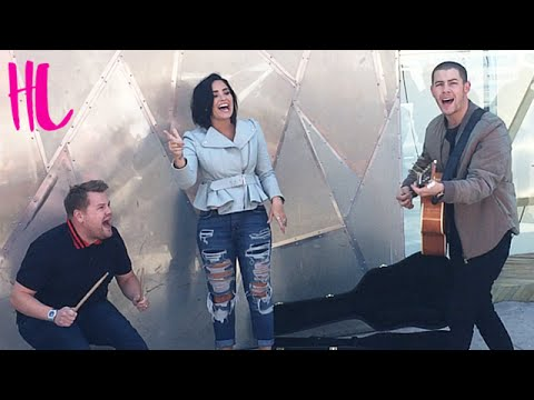 Demi Lovato & Nick Jonas 'Jealous' Carpool Karaoke Preview EXCLUSIVE