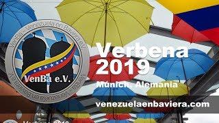 Venezolanos en Baviera e.V. München, Bayer. Alemania - VERBENA VENBA 2019